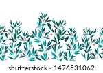 seamless watercolor border with ... | Shutterstock . vector #1476531062
