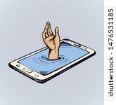 flat ui pc device palmtop data...