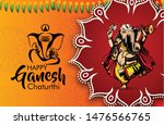 indian religious  ganesh... | Shutterstock .eps vector #1476566765