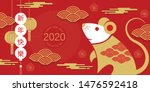 happy new year  2020  chinese... | Shutterstock .eps vector #1476592418