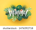 green and yellow summer... | Shutterstock .eps vector #1476592718