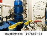 ships valves  main engine  ...   Shutterstock . vector #147659495