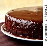 Super Chocolate Cake With...