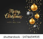 merry christmas and happy new... | Shutterstock .eps vector #1476654935