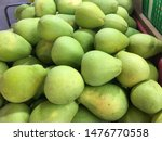 pile of green grapefruit... | Shutterstock . vector #1476770558