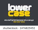 Lowercase Style Modern Font...
