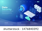 security data protection... | Shutterstock .eps vector #1476840392