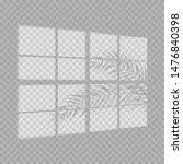 transparent shadow overlay...   Shutterstock .eps vector #1476840398