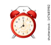 old fashioned alarm clock... | Shutterstock .eps vector #147685982