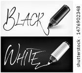 felt tip pen scribbled type for ... | Shutterstock . vector #1476902348