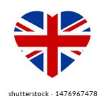 grunge flag of great britain ... | Shutterstock . vector #1476967478