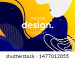 creative banner design with... | Shutterstock .eps vector #1477012055