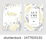 gold color invitation with... | Shutterstock .eps vector #1477025132