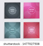 modern plate music album covers ... | Shutterstock .eps vector #1477027508