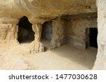 Cave At Matala  Crete  Greece