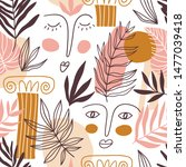 vector seamless pattern with...   Shutterstock .eps vector #1477039418