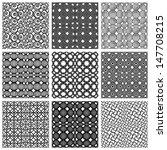 seamless geometric patterns set ...   Shutterstock .eps vector #147708215