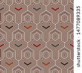 ethnic seamless surface pattern.... | Shutterstock .eps vector #1477089335