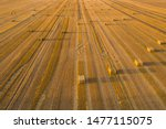 Aerial View Of Cereal Fields...