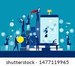 business finance and industry.... | Shutterstock .eps vector #1477119965