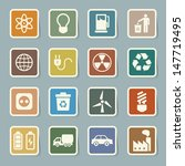eco energy icons set... | Shutterstock .eps vector #147719495