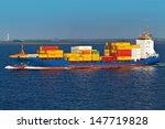cargo container ship | Shutterstock . vector #147719828