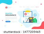 dental insurance. health plan ... | Shutterstock .eps vector #1477205465