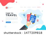 time to travel concept. human... | Shutterstock .eps vector #1477209818