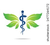 medical symbol created using... | Shutterstock .eps vector #1477264172