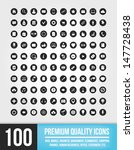 100 universal vector icons for...