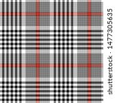 Glen Plaid Pattern. Seamless...