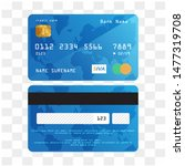 isolated credit card... | Shutterstock .eps vector #1477319708