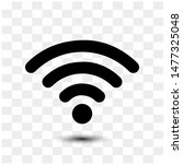 wi fi vector icon  sign  symbol. | Shutterstock .eps vector #1477325048