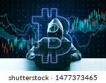 cryptocurrency concept and... | Shutterstock . vector #1477373465