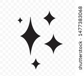 shine icon  clean star icon....   Shutterstock .eps vector #1477383068