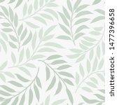 seamless vector floral pattern. ...   Shutterstock .eps vector #1477396658