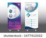 rollup template vector... | Shutterstock .eps vector #1477413332