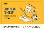 electronic contract isometric...