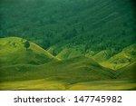 Green Prairie Landscape And...