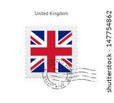 united kingdom flag postage...   Shutterstock .eps vector #147754862