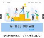business people success concept ... | Shutterstock .eps vector #1477566872
