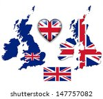 united kingdom  england flag ... | Shutterstock .eps vector #147757082