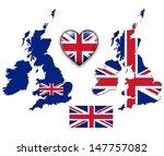 united kingdom  england flag ... | Shutterstock .eps vector #147757082