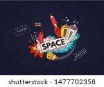 cartoon vector illustration of... | Shutterstock .eps vector #1477702358