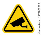 Warning Attention Sign With...