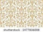 floral pattern. vintage... | Shutterstock .eps vector #1477836008