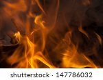 abstract fire  flame background.