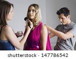 Designer And Makeup Artist...