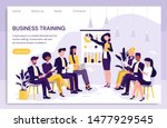 smart and young businesswoman...   Shutterstock .eps vector #1477929545