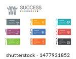 success infographic 10 option...